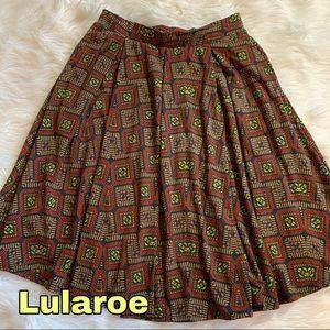 Lularoe size s small retro skirt EUC